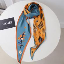 韩国菱qp装饰丝巾时tc蝴蝶结(小)领巾OL披肩头巾职业围巾