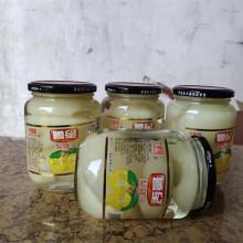 雪新鲜qq果梨子冰糖ba0克*4瓶大容量玻璃瓶包邮