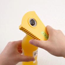 日本多qq能开盖器防pz器省力罐头旋盖器厨房(小)工具神器