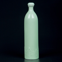景德镇qq瓷酒瓶一斤gs用仿古创意(小)酒壶密封酒坛子空酒瓶带盖