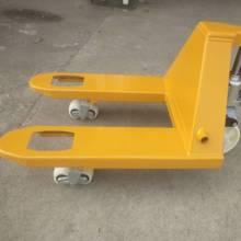 。地牛qr车货叉手动wg降手推(小)型2吨3吨轻便升高车液压搬运车