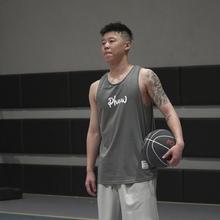 PHEqr 比赛训练wg季健身速干无袖T恤潮流坎肩宽松实战篮球背心