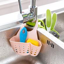 厨房用qs海绵沥水架cj水篮塑料收纳挂篮储物架置物架水槽挂架