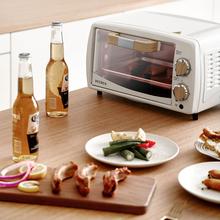 Petqsus/柏翠cjT11家用多功能烘焙蛋糕台式(小)型迷你烤箱10L 宝宝