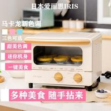 IRIqs/爱丽思 xw-01C家用迷你多功能网红 烘焙烧烤抖音同式