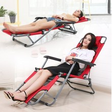 简约户qt沙滩椅子阳pg躺椅午休折叠露天防水椅睡觉的椅子。,
