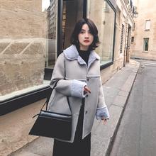 彬gequ表姐黑色短ta宽松皮衣夹克衫2020年春装新式韩款女外套