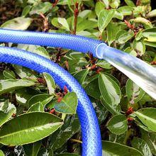 花园水qu软管家用4ta料洗车海蓝水管蛇皮管PVC进水管包纱管
