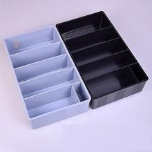 简易九qu收纳柜收式tz钱币收纳盒抽屉超市桌面抽屉内