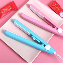 牛轧糖qu口机手压式en用迷你便携零食雪花酥包装袋糖纸封口机