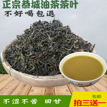 新式桂qu恭城油茶茶l8茶专用清明谷雨油茶叶包邮三送一