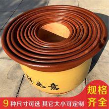 陶瓷紫qu山水复古室te大号清仓特价包邮盆景高档