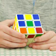 魔方三qx百变优质顺dt比赛专用初学者宝宝男孩轻巧益智玩具