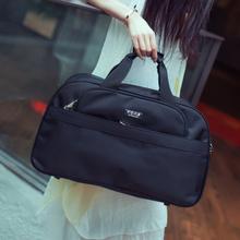 旅行袋qy手提行李袋bw大容量短途出差包简约旅游包