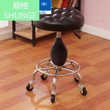 厂家直qy滚轮液压升ob凳 电脑椅大工凳 美容师傅美容椅