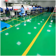 水性无qy环氧树脂地pw泥地面漆工厂防水家用室内外耐磨地板漆