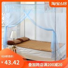 带落地qz架1.5米bw1.8m床家用学生宿舍加厚密单开门