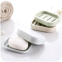 依米(小)r2丫 生活Pec盒 带盖 手工皂盒 沥水 创意香皂盒