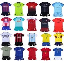 足球学生儿童服定制队服队法国罗球r813梅西德8o学c19-20阿