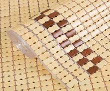 夏季麻ra凉席沙发垫bi厅北欧竹席夏天式红木竹凉垫子定做防滑