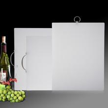 加厚家ra塑料菜板大bi塑料砧板粘板案板面板刀板