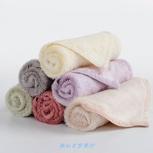 成的竹ra维(小)方巾Aca染童巾(小)毛巾中国结家用吸水柔软