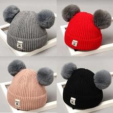 秋冬婴儿帽子加厚男宝宝帽
