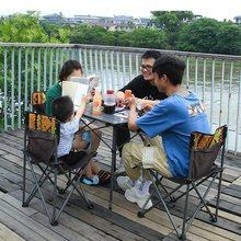 户外折ra桌椅便携式la便野餐桌自驾游铝合金野外烧烤野营桌子