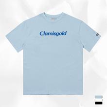 Claraisgolsa二代logo印花潮牌街头休闲圆领宽松短袖t恤衫男女式