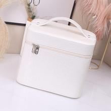化妆包ra级感202mo超火日系化妆箱便携简约收纳箱