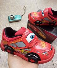 现货日本进口闪电麦昆男童鞋 (小)汽ra13总动员mo宝宝男童鞋