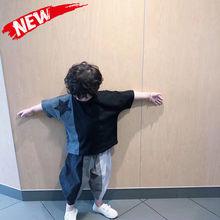 童装男童套装2020ra7式(小)童帅ar宝宝洋气5男孩夏装韩款潮3岁