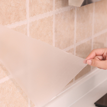 日本厨ra灶台面用耐ph水铝箔自粘瓷砖墙贴橱柜防潮垫