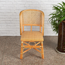(小)藤椅ra靠背椅天然yn单的家用宝宝椅休闲椅阳台藤椅书房