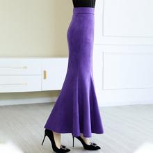 新式百ra修身显瘦荷en式裙高腰半身裙包臀裙a字大摆裙