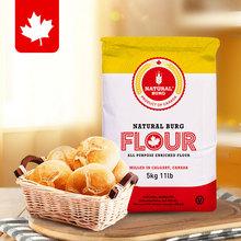 加拿大re口高筋(小)麦lnkg 圣地博格吐司披萨面包粉拉丝家用烘焙