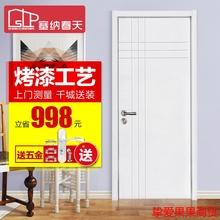 木门 re内门卧室门de复合门烤漆房门烤漆门110