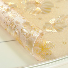 透明水re板餐桌垫软flvc茶几桌布耐高温防烫防水防油免洗台布