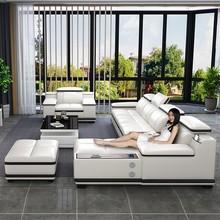 沙发头rf简约现代家zp客厅组合大(小)户型智能
