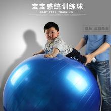 120CM宝宝rh统训练球儿do球防爆加厚婴儿按摩环保