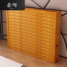 折叠床ri的双的夏季ew房简易硬板便携家用1.2米午休午睡
