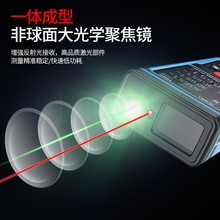 威士激ri测量仪高精ap线手持户内外量房仪激光尺电子尺