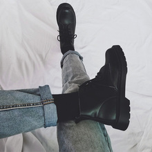 [risin]英伦情侣帅气马丁靴网红全
