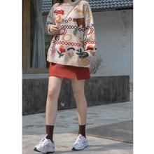 你好卡ri 毛呢半身vh女2020新式加厚港味高腰显瘦开叉a字短裙