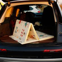 宝宝爬ri垫可折叠婴iu保野餐垫XPE游戏毯客厅泡沫地垫