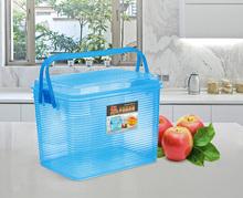 振兴Crm8804手ml箱整理箱塑料箱杂物居家收纳箱手提收纳盒包邮