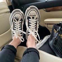 [rmml]网红同款帆布板鞋女202