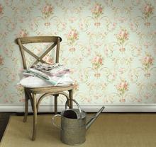 纯纸墙纸美国WQ进口纯纸木纤ro11环保田ds主房客厅卧室壁纸
