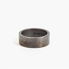 欧美潮ro复古戒指男85锈铁圆环个性单身食指嘻哈情侣饰品