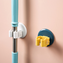 [roger]免打孔拖把夹神器厕所挂钩